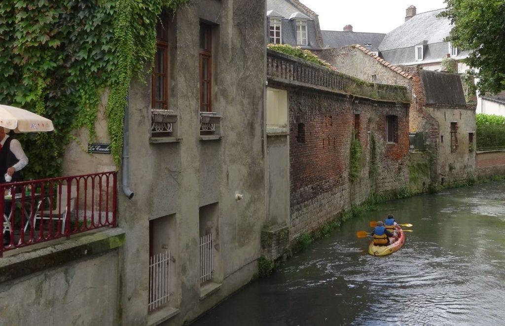 hesdin, river, canche, canoë-kayak