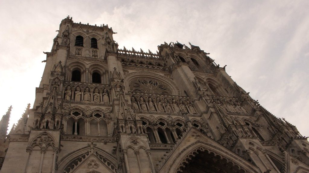 cathedral, amiens, heritage