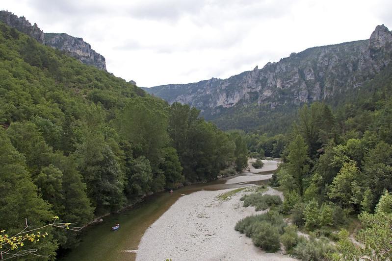 gorges tarn kayak