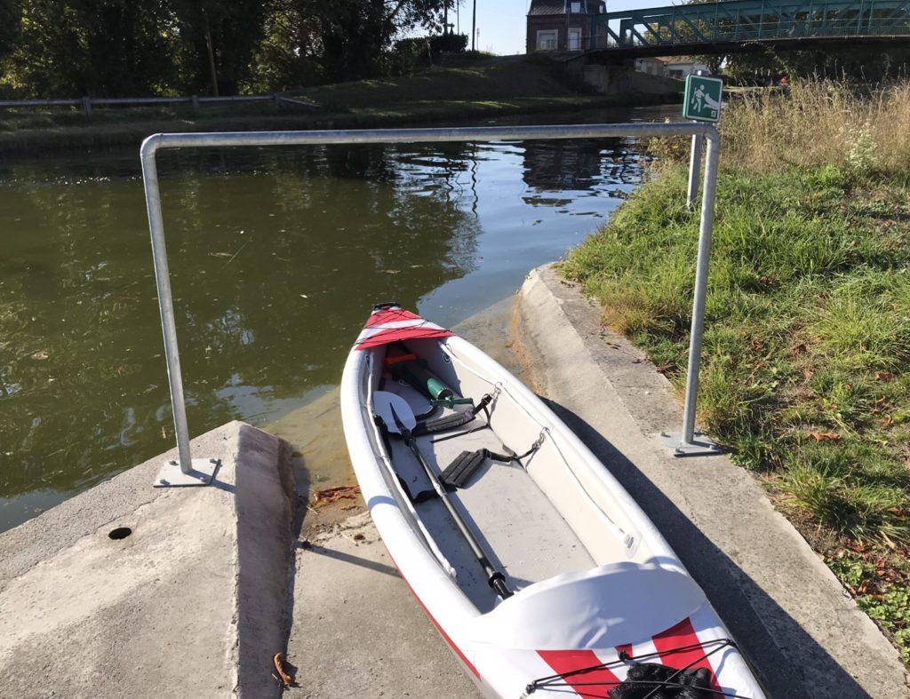 canal Saint-Quentin Voyelles-sur-Escaut