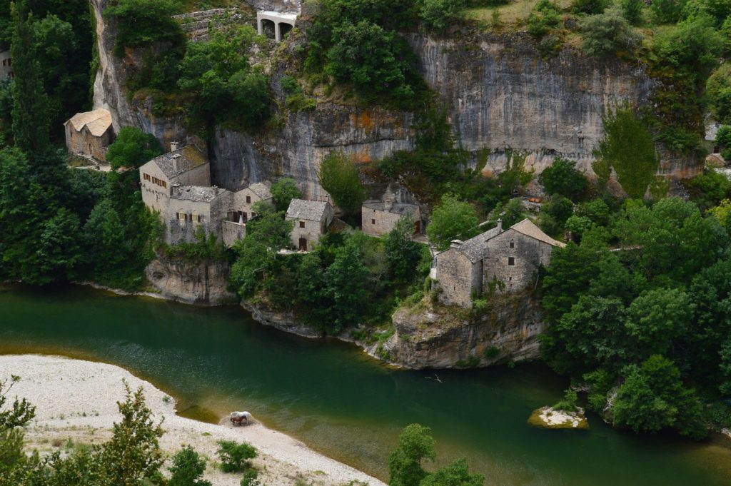 tarn, castelbouc, river