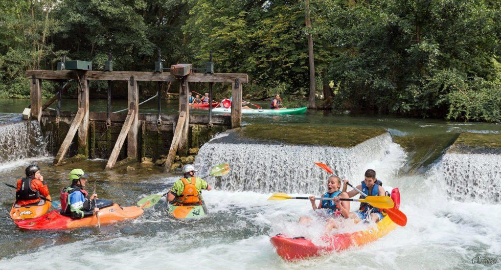 canoë-kayak, Loing, Moret-sur-Loing