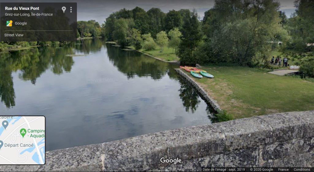 canoë-kayak, Grez-sur-Loing, river