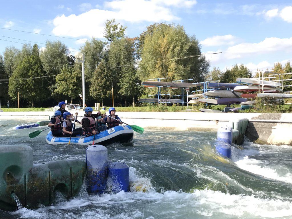 rafting, eaux vives, Saint-Laurent-Blangy