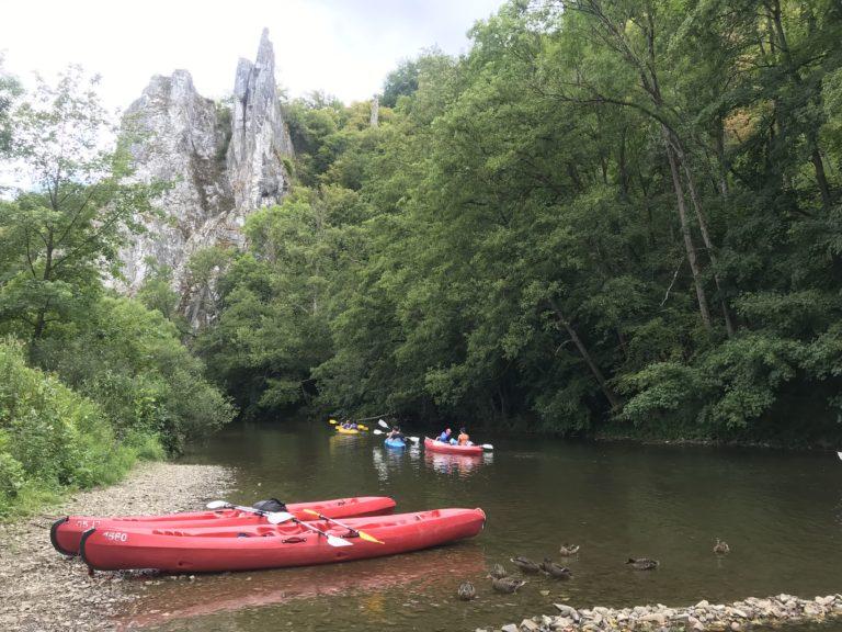 canoë-kayak, Lesse, Dinant