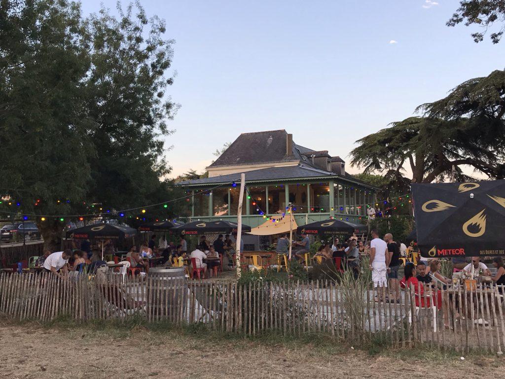 Guinguette Loire angers port thibault