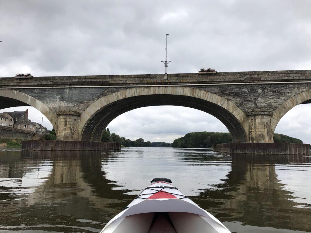 Canoë-kayak Loire ponts-de-cé