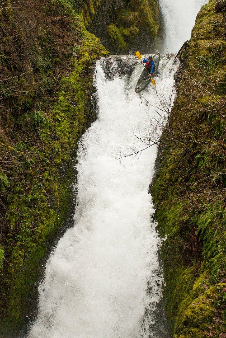 waterfall, oregon, bridal veil falls