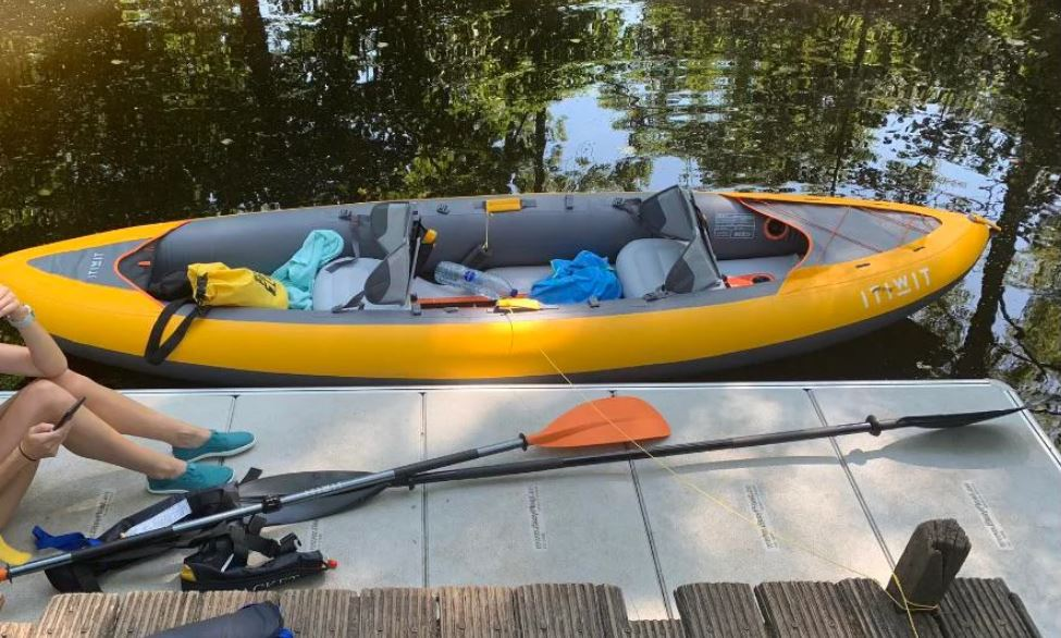 kayak gonflable Decathlon itiwit x100