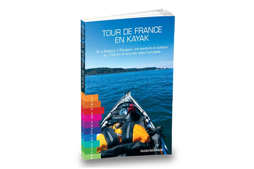 livre Tour de France kayak Gildas Boucherie