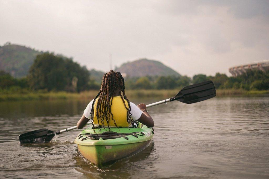 kayak, kayaking, paddle