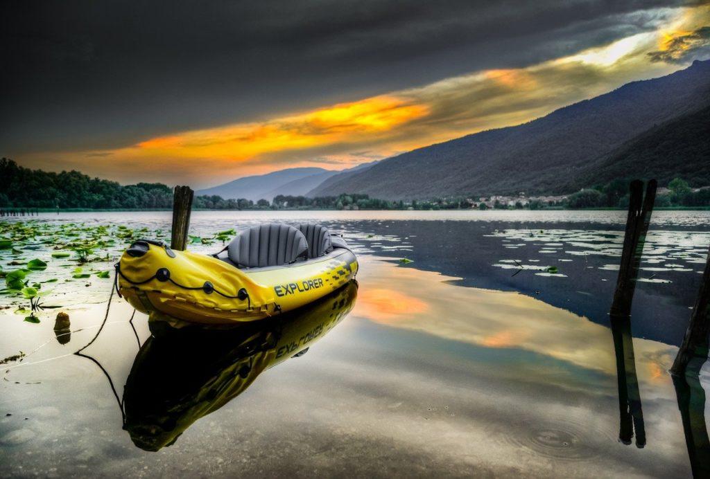 kayak, explorer k2, intex, travel