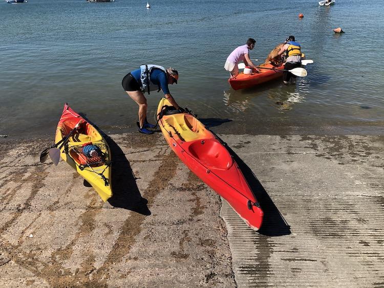 cale kayak club Franceville Merville