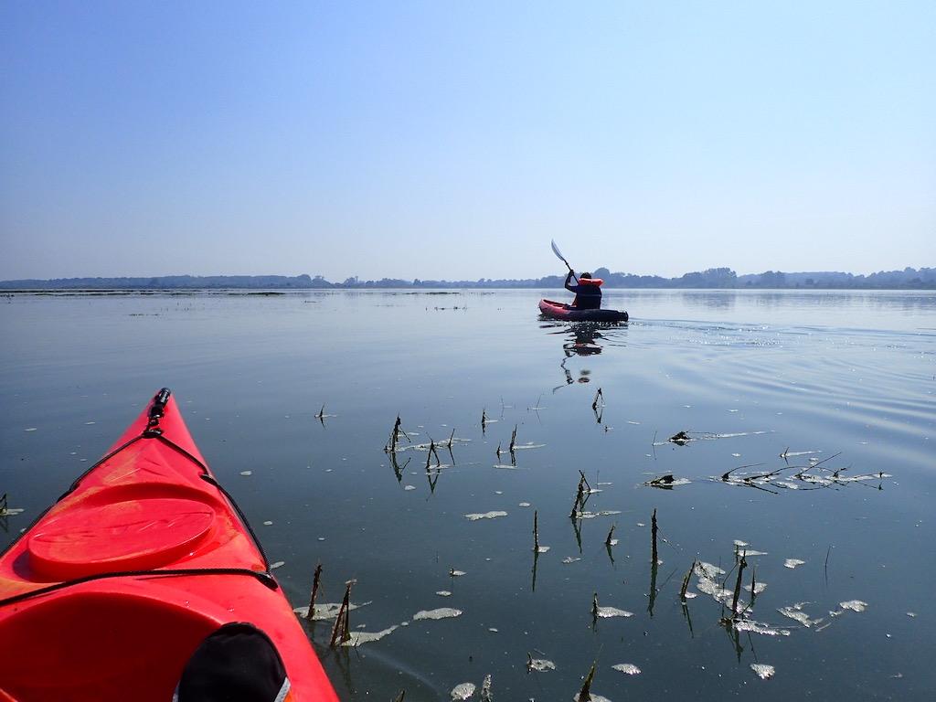 Canoe kayak estuaire Orne