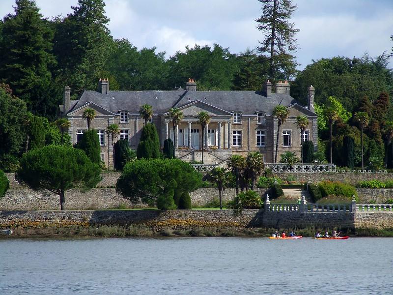château Lanniron Quimper Kayak Odet