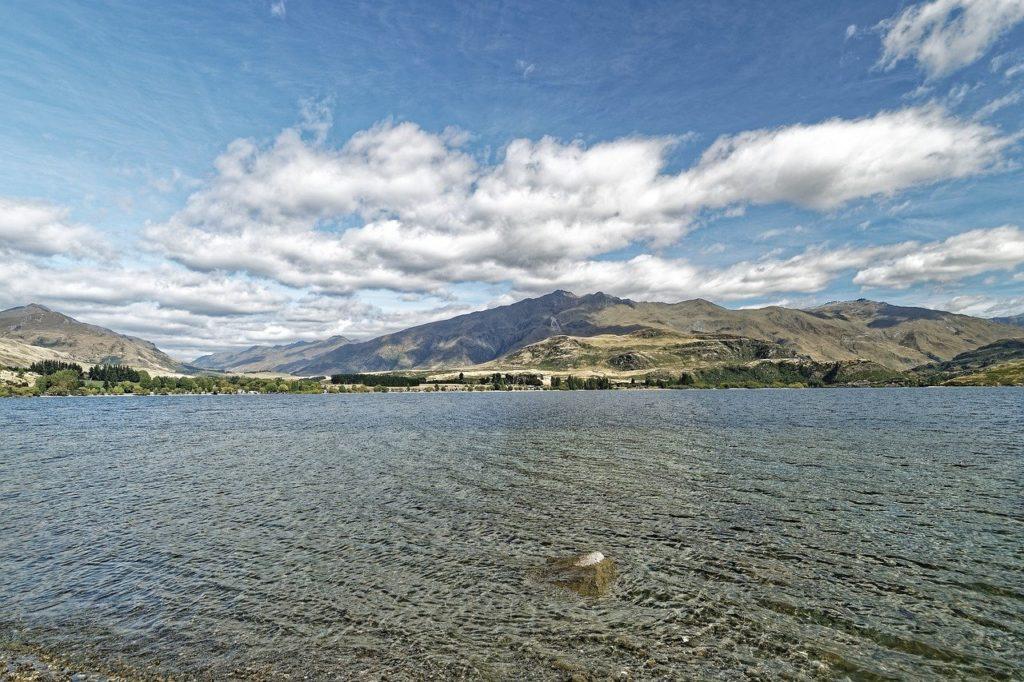 new zealand, lake wanaka, lake
