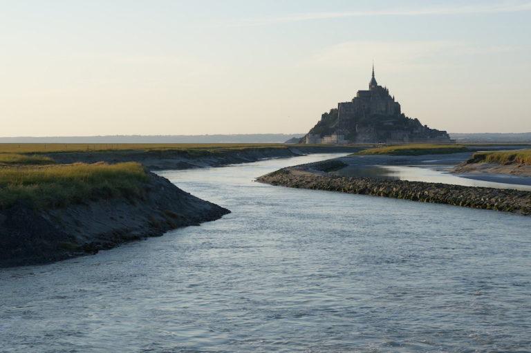 rivière Sée Mont Saint-Michel