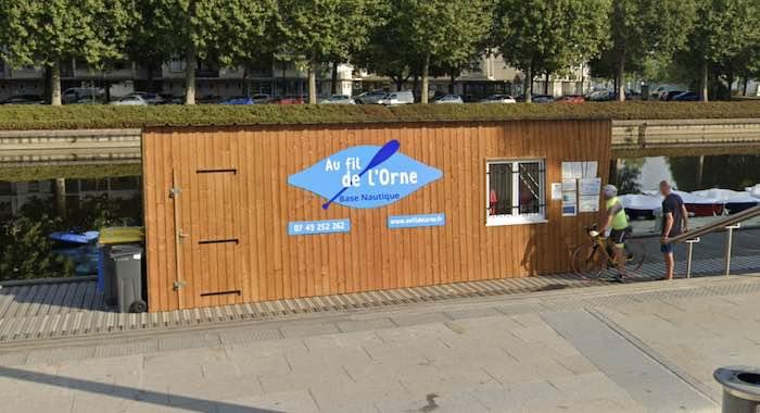 base nautique fil Orne Caen