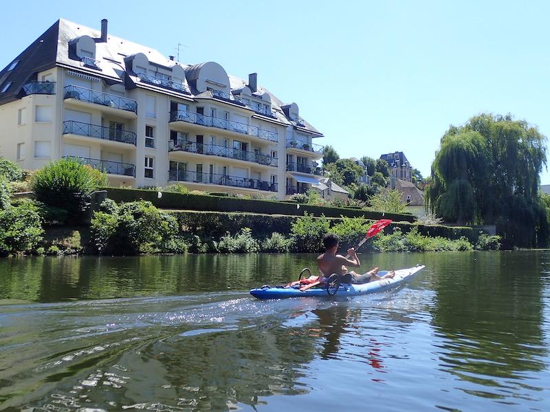 Orne kayak Caen normandie
