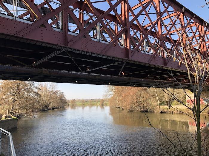 ancien pont Orne Caen