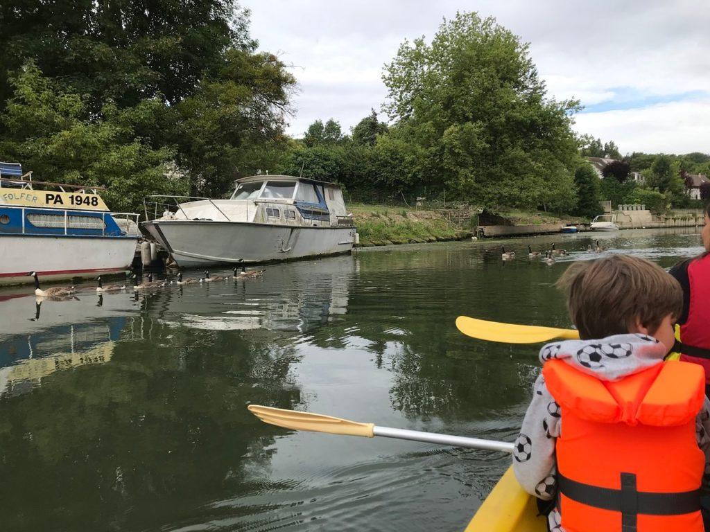 club kayak ragondins villennes sur seine