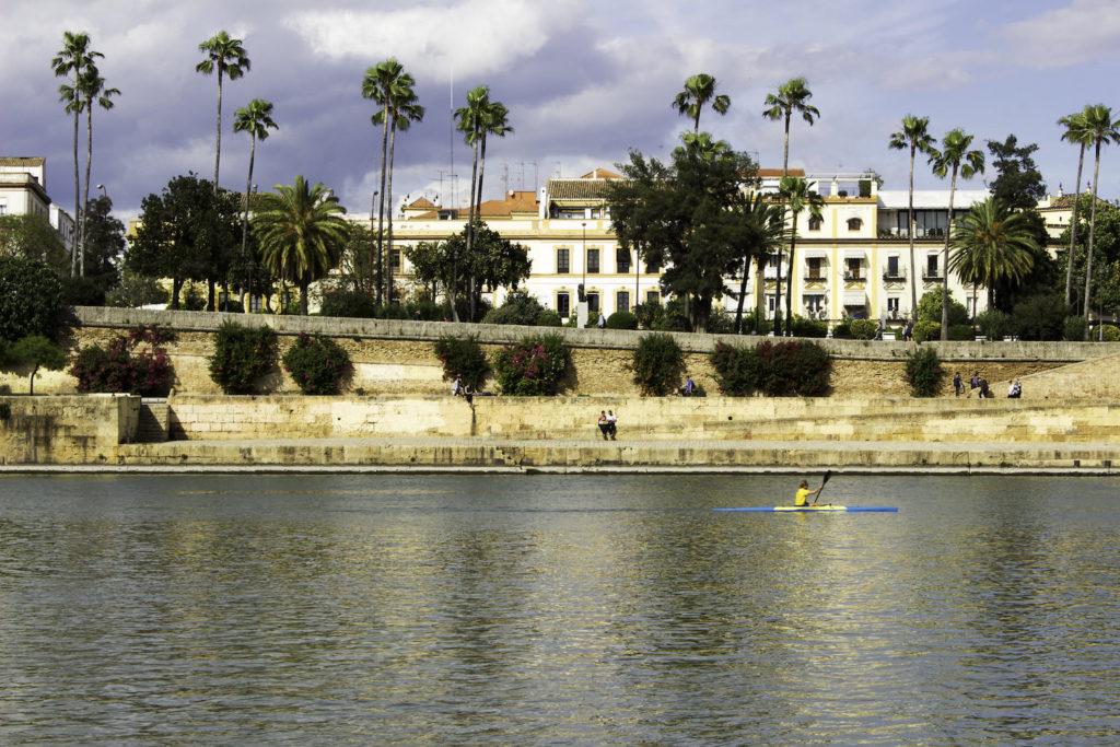 canoe kayak Seville Guadalquivir