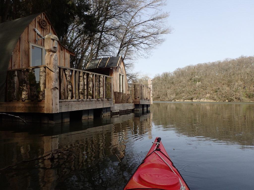 maison kayak putanges les lac normandie