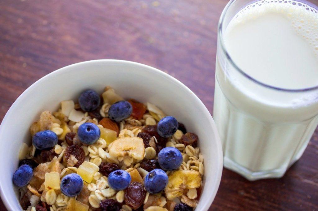 muesli, cereal, oatmeal, canoe, kayak