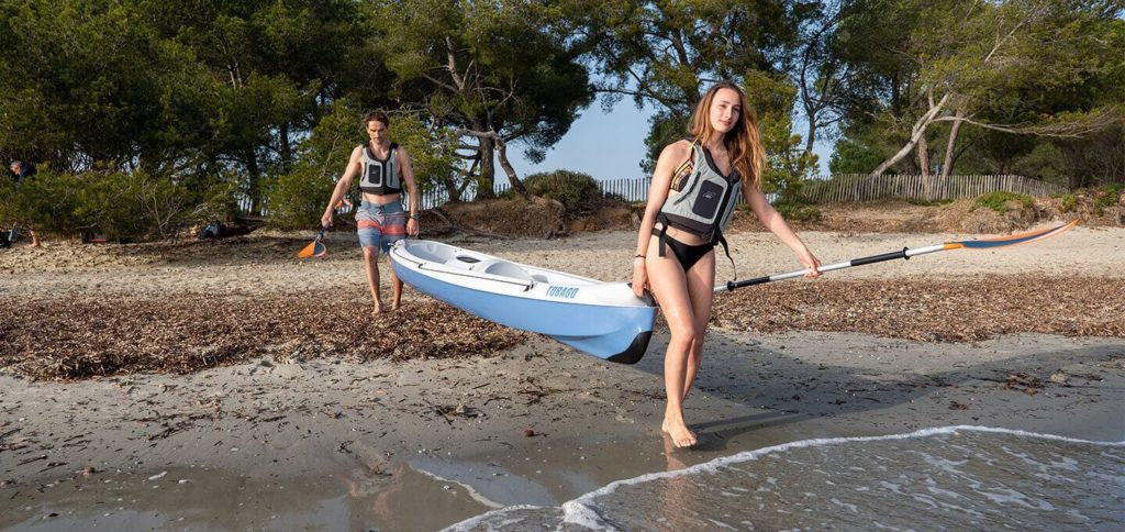 kayak tahe outdoors plage
