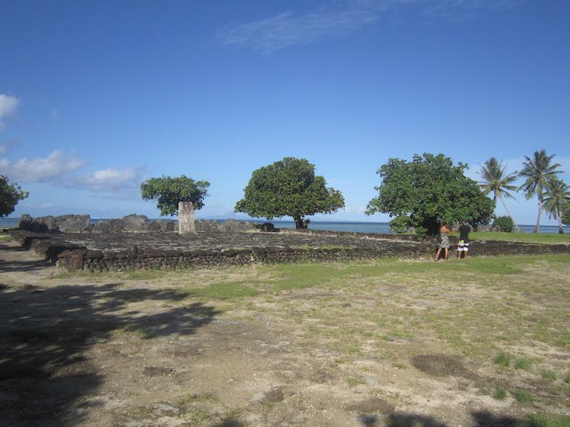 marae taputapuatea Raiatea