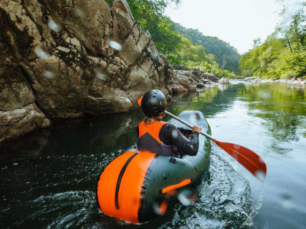 Packraft Itiwit Decathlon riviere
