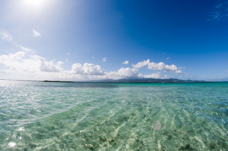baie guadeloupe eau